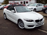 USED 2016 16 BMW 2 SERIES 1.5 218I SE 2d 134 BHP One Owner ONLY 12k With FULL Leather And SAT NAV !!