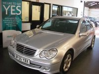 USED 2005 55 MERCEDES-BENZ C CLASS 3.0 C280 AVANTGARDE SE 4d AUTO 228 BHP Privately owned, full service history- 10 stamps, September 2018 Mot. Finished in Silver with full Black leather