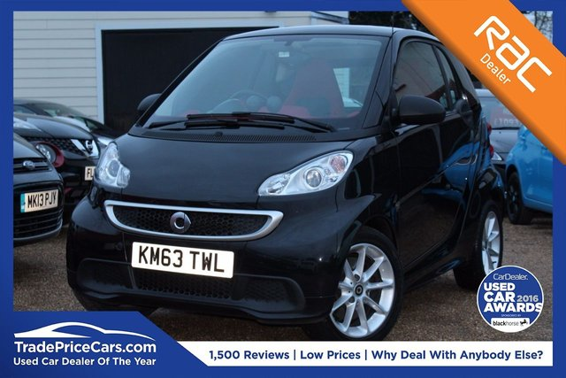 View our 2013 63 SMART FORTWO 1.0 PASSION MHD 2d 71 BHP