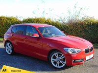 USED 2014 64 BMW 1 SERIES 1.6 116I SPORT 5d * 128 POINT AA INSPECTED *
