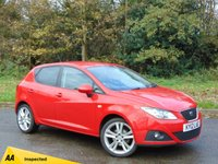 USED 2012 12 SEAT IBIZA 1.4 SPORTRIDER 5d 85 BHP * 128 POINT AA INSPECTED *