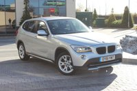 USED 2011 61 BMW X1 2.0 SDRIVE20D EFFICIENTDYNAMICS 5d  FSH - 2 OWNERS - NAV - LEATHER
