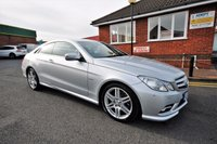 USED 2010 10 MERCEDES-BENZ E CLASS 3.0 E350 CDI BLUEEFFICIENCY SPORT 2d AUTO 231 BHP FULL MERCEDES SERVICE HISTORY + SAT NAV + FULL HEATED LEATHER