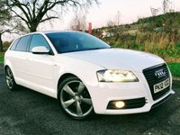 2012 AUDI A3 2.0 SPORTBACK TDI S LINE SPECIAL EDITION 5d 138 BHP £11250.00