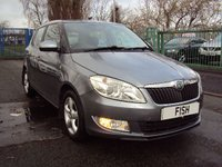 USED 2012 12 SKODA FABIA 1.2 GREENLINE TDI CR 5d 74BHP ZERO ROAD TAX+FSH 4STAMPS+2KEY