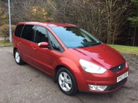 USED 2007 07 FORD GALAXY 2.0 ZETEC LEATHER TDCI 5d 143 BHP 6 MONTHS PARTS+ LABOUR WARRANTY+AA COVER