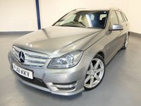 2012 MERCEDES-BENZ C CLASS 2.1 C220 CDI BLUEEFFICIENCY SPORT 5d AUTO 168 BHP £9680.00