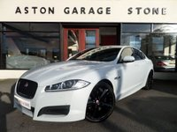 USED 2015 15 JAGUAR XF 2.2 D R-SPORT BLACK 4d AUTO 200 BHP ** MERIDIAN SURROUND * LEATHER * FSH** ** HEATED LEATHER * MERIDIAN SURROUND SOUND **