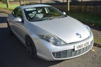 USED 2010 10 RENAULT LAGUNA 2.0 DCI GT  3d COUPE 180 BHP SERVICE HISTORY, SAT NAV, SPORTS LEATHER SEATS, HEATED ELECTRIC SEATS, PARKING AID, CRUISE CONTROL, RECENT MOT