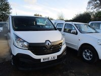 2015 RENAULT TRAFIC 1.6 LL29 BUSINESS DCI DOUBLE CAB 115 BHP £12500.00