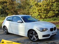 USED 2012 62 BMW 1 SERIES 1.6 116I SPORT 3d AUTO 135 BHP * 128 POINT AA INSPECTED *