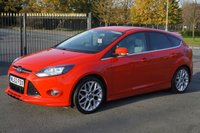 USED 2012 62 FORD FOCUS 1.0 ZETEC S S/S 5d 124 BHP Full Service History £30 RFL