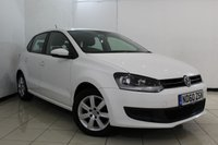USED 2011 60 VOLKSWAGEN POLO 1.4 SE 5DR 85 BHP AIR CONDITIONING + RADIO/CD + ELECTRIC WINDOWS + ELECTRIC MIRRORS