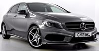 USED 2013 13 MERCEDES-BENZ A-CLASS 2.1 A220 CDI BlueEFFICIENCY AMG Sport 7G-DCT 5dr Sat Nav, Night Pack, Bi-Xenons