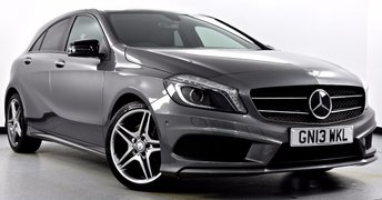 2013 MERCEDES-BENZ A-CLASS 2.1 A220 CDI BlueEFFICIENCY AMG Sport 7G-DCT 5dr £15995.00