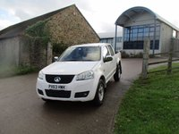 2013 GREAT WALL STEED 2.0 TD S 4X4 DOUBLE CAB  4 WHEEL DRIVE 142 BHP NO VAT £7250.00