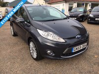USED 2009 59 FORD FIESTA 1.6 TITANIUM 5d 118 BHP VOICE COMM / BLUETOOTH / USB / LOW MILEAGE / FULL HISTORY