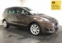 USED 2014 64 PEUGEOT 5008 1.6 E-HDI ALLURE 5d AUTO 115 BHP FULL PEUGEOT HISTORY - ONE OWNER - PAN ROOF - SAT NAV - AIR CON - PARKING CAMERA - HEADS UP DISPLAY