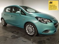 USED 2015 65 VAUXHALL CORSA 1.4 SE 5d AUTO 89 BHP FULL VAUXHALL HISTORY - ONE OWNER - BLUETOOTH - FRONT & REAR SENSORS - DAB/AUX/USB - AIR CON