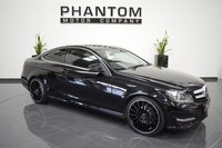USED 2014 64 MERCEDES-BENZ C CLASS 2.1 C220 CDI AMG SPORT EDITION 2d AUTO 168 BHP