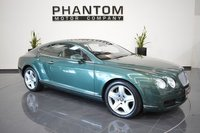 2004 BENTLEY CONTINENTAL 6.0 GT 2d AUTO 550 BHP £23990.00