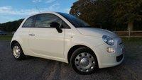 2012 FIAT 500 1.2 POP 3d 69 BHP £5000.00