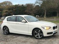 2014 BMW 1 SERIES 2.0 116D SPORT 5d 114 BHP £10000.00