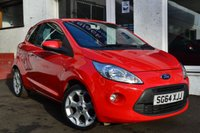 USED 2014 64 FORD KA 1.2 TITANIUM 3d 69 BHP TOP OF THE RANGE FORD KA