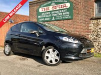 USED 2013 13 FORD FIESTA 1.4 1.4 TDCI 1d 69 BHP One Owner, Jet Black, Low Mileage, Finance Arranged.