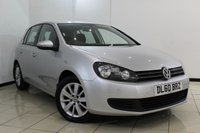USED 2011 60 VOLKSWAGEN GOLF 1.4 SE TSI 5DR 121 BHP SERVICE HISTORY + BLUETOOTH + PARKING SENSOR + CRUISE CONTROL + MULTI FUNCTION WHEEL + AIR CONDITIONING + 16 INCH ALLOY WHEELS