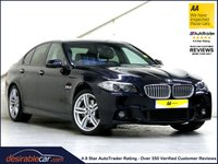 2015 BMW 5 SERIES 3.0 ACTIVEHYBRID 5 M SPORT PLUS 4d AUTO 302 BHP £22787.00