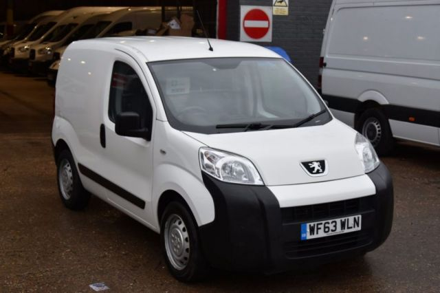2013 63 PEUGEOT BIPPER 1.2 HDI S 5d 75 BHP SWB FWD STANDARD ROOF DIESEL PANEL MANUAL VAN ONE OWNER FULL S/H  SPARE KEY