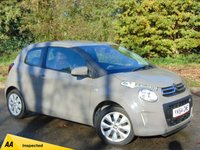 USED 2014 64 CITROEN C1 1.0 FEEL 3d 68 BHP 128 POINT AA INSPECTED