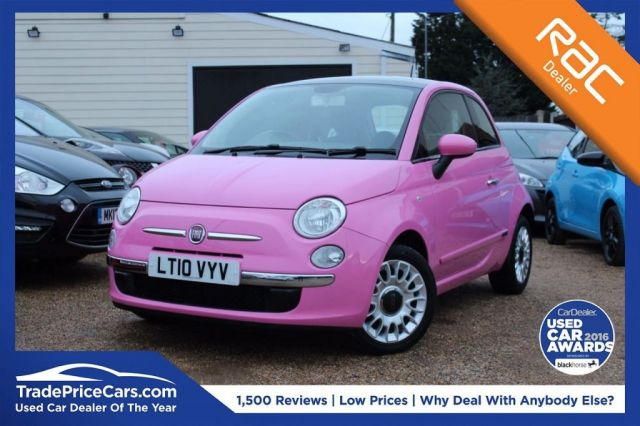 View our 2010 10 FIAT 500 1.2 PURO2 3d 69 BHP