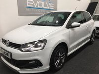 2015 VOLKSWAGEN POLO 1.2 R LINE TSI 3d 89 BHP £SOLD