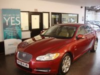 USED 2008 58 JAGUAR XF 2.7 PREMIUM LUXURY V6 4d AUTO 204 BHP Two private owners, Full Jaguar service history- 9 Marshall Ipswich stamps, July 2018 Mot. Huge specification
