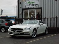 2012 MERCEDES-BENZ SLK 1.8 SLK200 BLUEEFFICIENCY 2d 184 BHP £12995.00