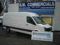 2012 VOLKSWAGEN CRAFTER 2.0 CR35 TDI 1d 107 BHP £SOLD
