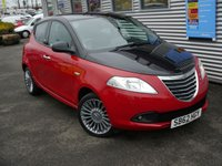 USED 2012 62 CHRYSLER YPSILON 1.2 BLACK AND RED 5d