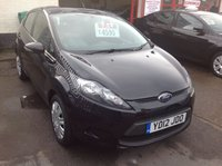 USED 2012 12 FORD FIESTA 1.4 EDGE TDCI 5d 69 BHP Diesel, 5 door, 59000 miles, 12 months warranty, low road tax,