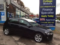 USED 2014 64 VOLKSWAGEN GOLF 1.6 MATCH TDI BLUEMOTION TECHNOLOGY 5d 103 BHP, only 17000 miles *****FINANCE AVAILABLE APPLY ONLINE******