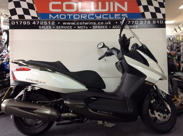 View our KYMCO DOWNTOWN