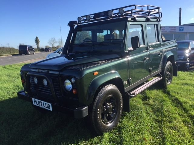 2002 02 LAND ROVER DEFENDER 2.5 110 TD5 COUNTY DOUBLE CAB LWB 1d 120 BHP