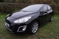 """2012 PEUGEOT 308 1.6 ACTIVE 5d 120 BHP,CRUISE,17""""ALLOYS,FULL SERVICE HISTORY £5000.00"""