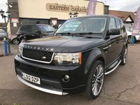 2012 LAND ROVER RANGE ROVER SPORT 3.0 SDV6 HSE 5d AUTO 255 BHP EXCLUSIVE £SOLD