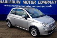 2011 FIAT 500 1.2 LOUNGE 3d 69 BHP £4999.00