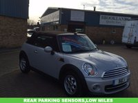 USED 2013 13 MINI CONVERTIBLE 1.6 COOPER 2d 122 BHP A Stunning Mini Convertible With Rear Parking Sensors and so much more !!! Don't Forget to check out our 360 of the mini