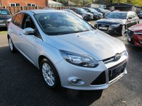 USED 2011 61 FORD FOCUS 1.6 TITANIUM 5d 124 BHP + SUPER LOW MILES ,