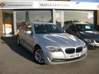 2012 BMW 5 SERIES 2.0 520D EFFICIENTDYNAMICS 4d 181 BHP