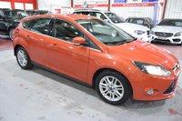 USED 2012 62 FORD FOCUS 2.0 TITANIUM TDCI 5d AUTO 139 BHP